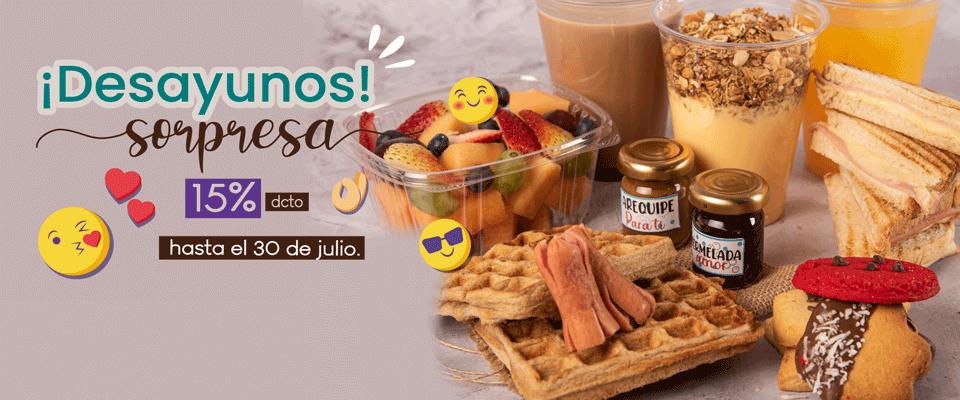 #desayunosorpresa